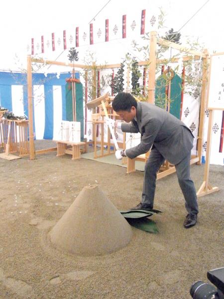 アイ・テック、相馬工場の新築工事で安全祈願祭