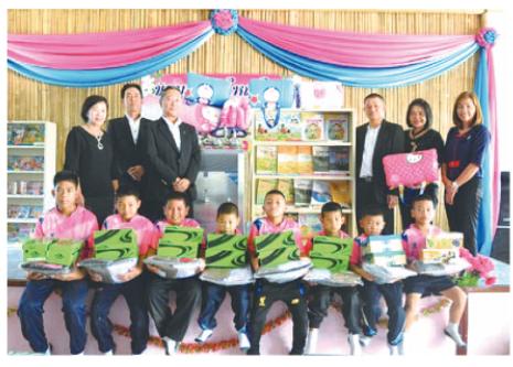 神鋼商事 タイで小学校に寄付