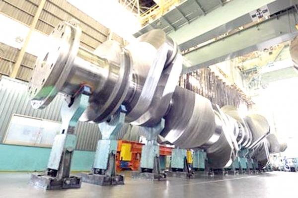 神戸製鋼、世界最大級船舶用クランクシャフトを三井造船に納入