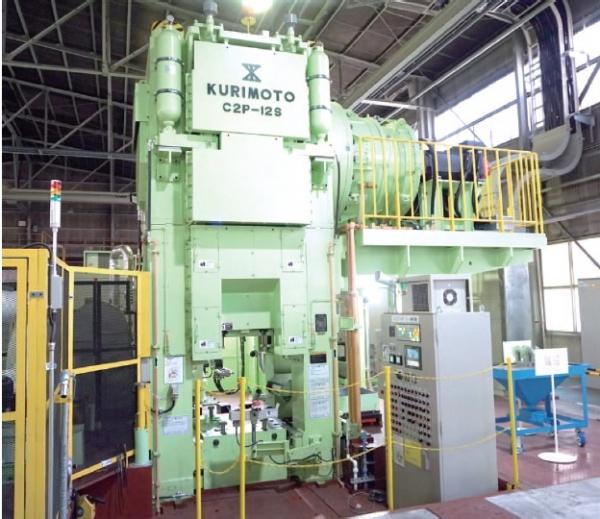 愛知製鋼、サーボ式プレスライン竣工 次世代鍛造品開発を加速