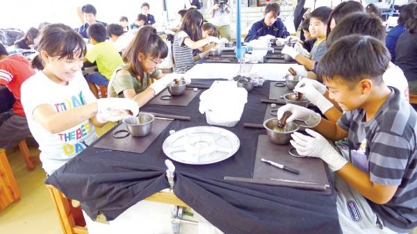 愛知製鋼、小学生向けに「鉄の教室」実施
