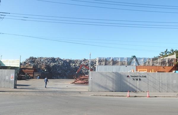 ナンセイ、スクラップ取扱高年間70万トンに引上げ 3年後めど