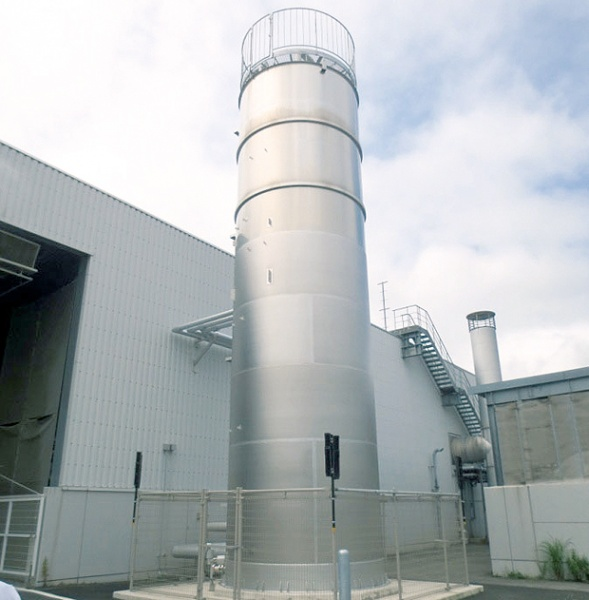 NSSC 省合金二相ステンレス鋼、食品工場タンクで初採用
