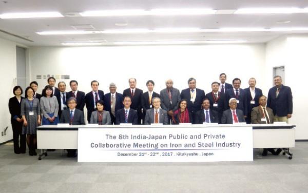 日印鉄鋼会合、CO2削減の取組み合意