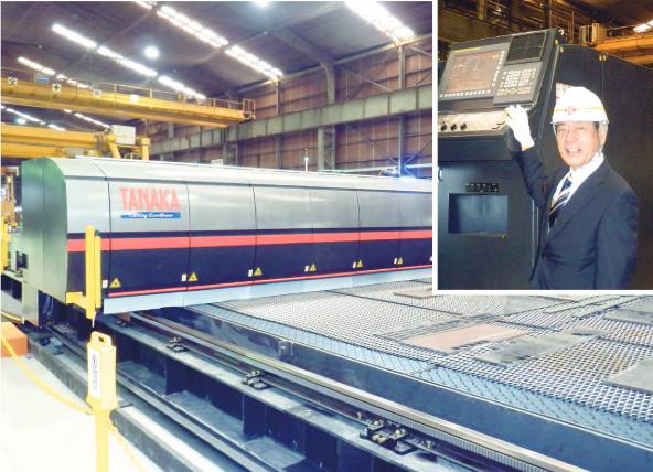 イズミ鋼板工業、10キロワットファイバー国内初導入