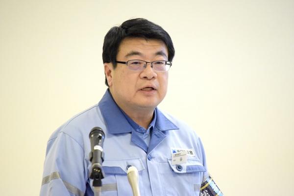 谷潤一・新日鉄住金八幡製鉄所長会見 鉄源構造改革を着実に実行