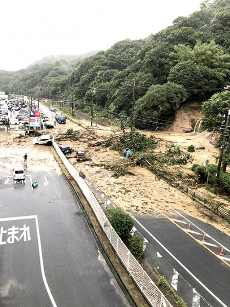 西日本豪雨災害 鉄鋼・金属 業界 輸送に深刻な影響 物流寸断 需要産業、操業停止も