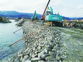 JFEスチール、鉄鋼スラグ製品 震災早期復旧に貢献
