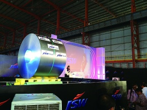 JFEスチール、印JSW 新冷延開所式 製造技術を供与