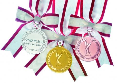 田中貴金属、「第6回横浜国際女子マラソン」のメダル製作