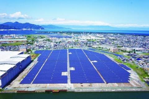 JFEエンジニアリング、「三保ソーラーパワー」完成