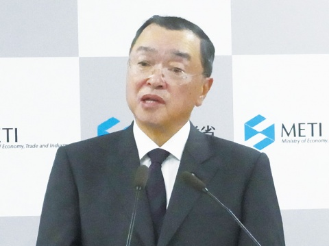 宮沢経産大臣が就任会見 責任あるエネルギー対策