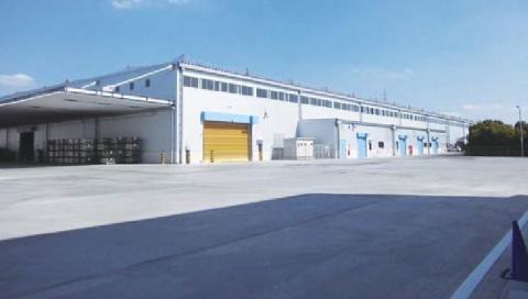 丸一鋼管、新東京工場きょう披露 東日本最大の鋼管供給拠点を構築
