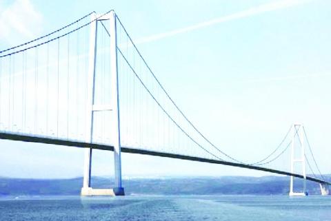 東京製綱、ケーブル2万トン納入 過去最高 トルコ橋梁向け