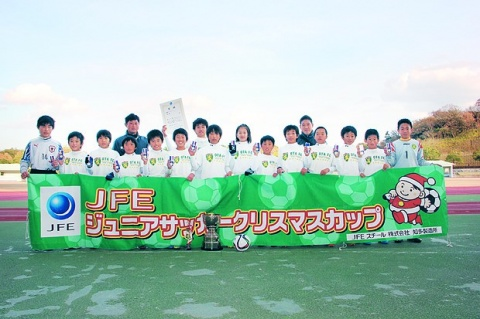 JFES知多 ジュニアサッカークリスマス杯開催