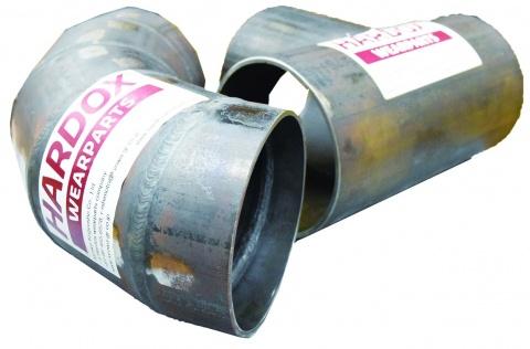 共和工業所、スウェーデン製耐摩耗鋼管 加工販売