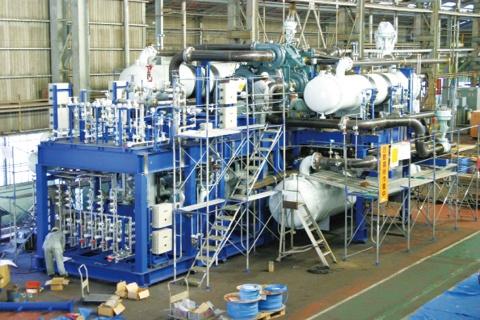 神戸製鋼・機械事業部門、圧縮機の世界受注加速