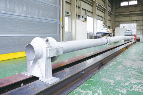 日鉄住金P&E、伸縮自在の水管橋開発