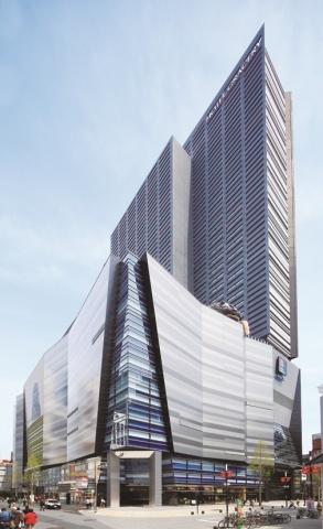 JFES、780ニュートン級高張力厚鋼板 新宿東宝ビル 柱材で初採用