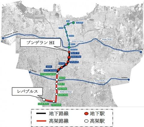 三井物産・神鋼など4社、インドネシア初の地下鉄向け鉄道工事受注