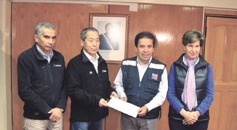 JX金属、チリの豪雨被災地に寄付