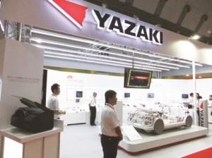 矢崎総業の展示ブースC