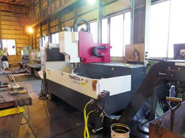 高砂金属工業、鋼板用穴開け機更新