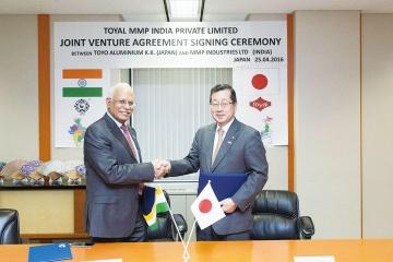 東洋アルミ、インドでペースト合弁 現地大手と契約締結