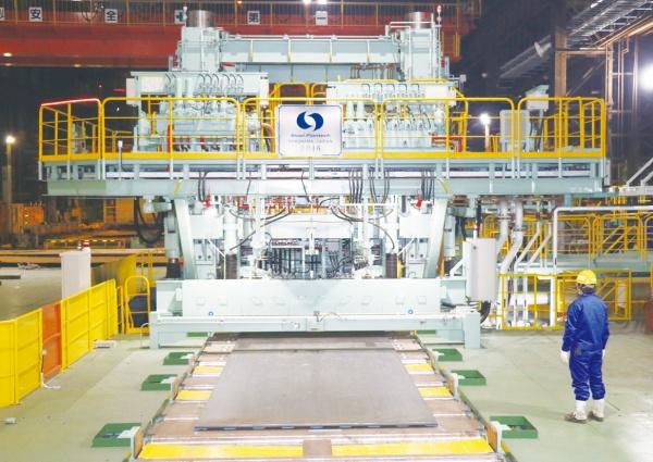 スチールプランテック、日本製鋼所・室蘭に第4世代厚板コールドレベラ納入