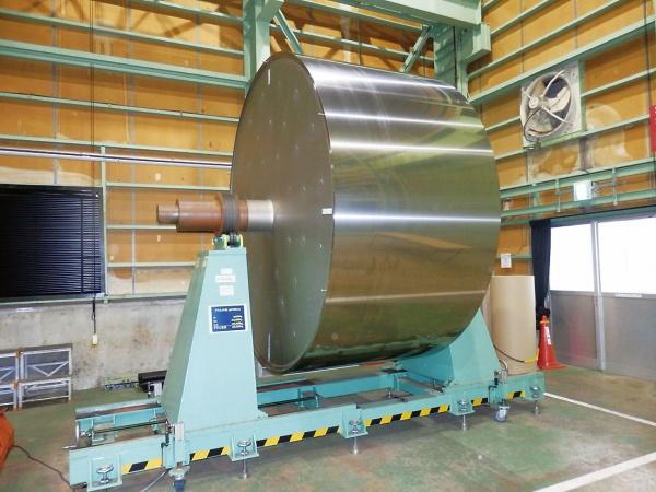 日鉄住金工材、次世代電着ドラム開発 電解銅箔用