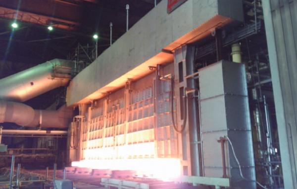 JFES西日本・倉敷 5号加熱炉、運転開始