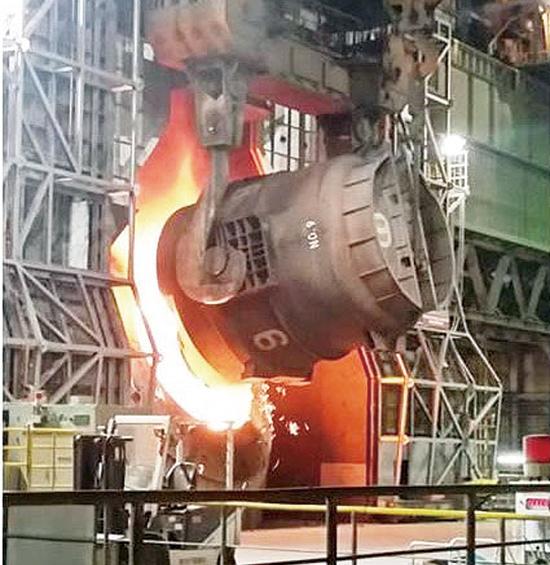 神戸製鋼所・加古川、2基目の脱りん炉稼働
