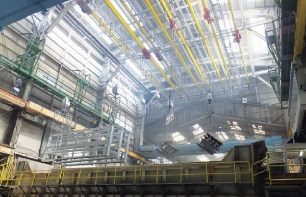 デンコー、めっき工場改修完了 クレーン8基も更新