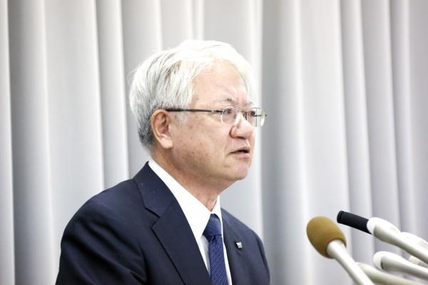 神戸製鋼 川崎社長が調査結果発表 設備投資含め防止策