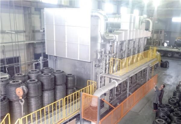 大同プラント工業、ナマシ鉄線用高効率焼鈍炉を開発 ハンナンに1号機 ...
