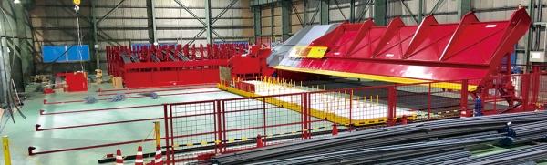 ディビーエス、鉄筋自動加工設備を導入 マルチタスク機、アジアで初
