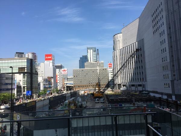 ヨドバシ梅田タワー 鉄骨使用1.1万トン見込む