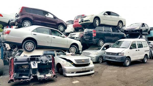 解体済み自動車引取難 中国への輸出難しく ASR出荷効率低下 内外の環境変化に対応 新たな解体、選別を