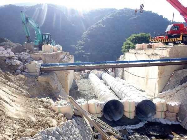 JFE建材・中国、被災道路の早期復旧寄与