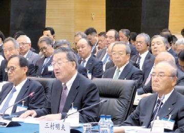 日中経済協会合同訪中団、さらなる構造調整期待