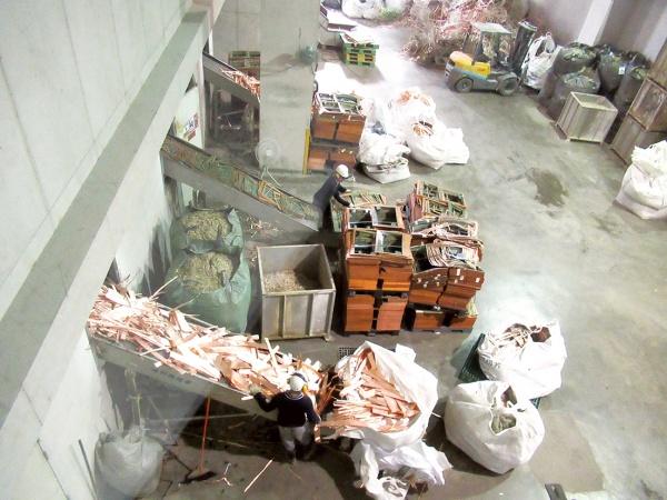 中台資源科技 ミックスメタルリサイクル処理、月1000トンに拡大