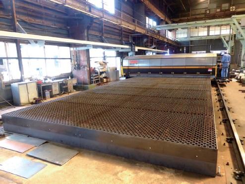 三和鉄鋼、犬山工場の溶断部門にファイバーレーザー初導入