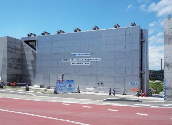 NSSC 高強度二相ステンレス鋼、国内最大「陸閘門」に採用