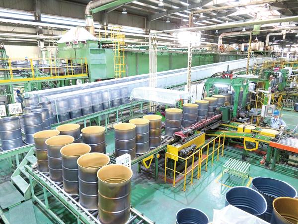 JFEコンテイナー、中国で新製品投入 高品質ドラム缶需要捕捉