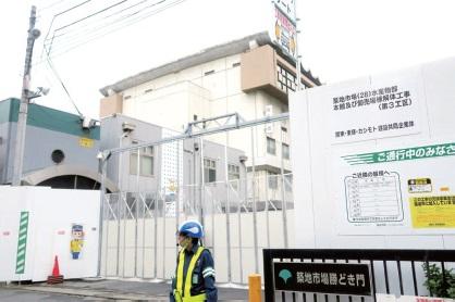 築地市場解体工事、発生鉄スクラップ2.7万トン