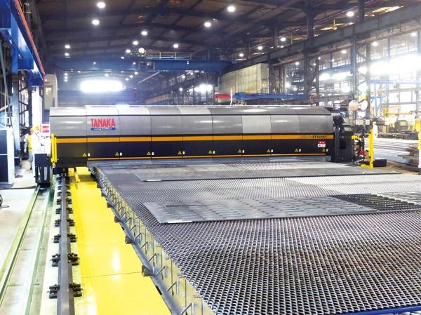 東海鋼材工業、ファイバーレーザー初導入