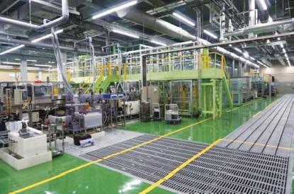 愛知製鋼 岐阜工場、次世代車用放熱部品の新ライン立上げ