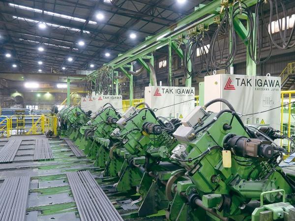 共英製鋼・山口、設備更新が完了 製品荷姿・品質改善