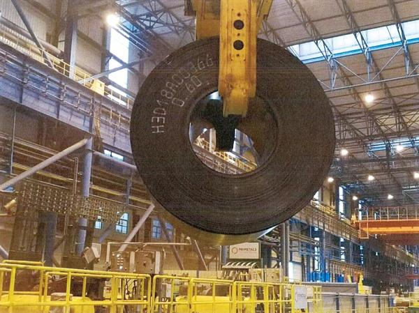 プライメタルズ 日照鋼鉄に納入の連続鋳造圧延ライン、0.6ミリ厚熱延鋼板生産に成功