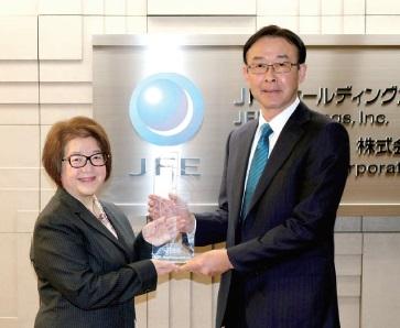 Top100グローバル・イノベーター、JFEスチールを選出